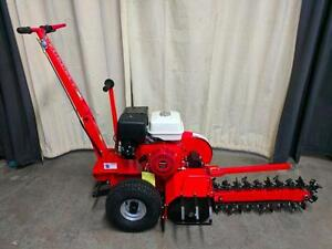 HOC DT70 HONDA TRENCHER + 13 HP + 25 INCH DEEP + 27 TUNGSTEN CARBIDE BLADES + 2 YEAR WARRANTY + FREE SHIPPING