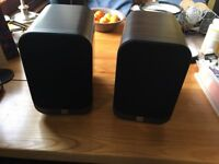 Q Acoustics 3010 Speakers - Excellent Condition