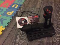 Black widow Desktop joystick/throttle combo
