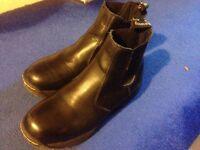 Dr Martins Mens Cottam ST Dealer Boot Steel Toe Safety Shoes Size UK 8 / EU 42