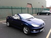 Peugot 206cc very low miles private reg plate