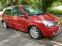 2009 Renault Scenic Automatic 1.6 family 5 seat car