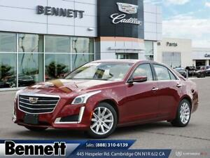2015 Cadillac CTS Luxury AWD- 3.6L V6, Roof, Nav, Heated/Cooled