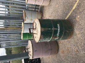 FREE Concrete Barrier / Blocks / Site Protection / Metal Drums / Concrete Drum