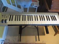 M Audio KeyRig 49 Midi Keyboard
