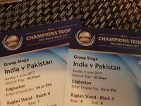 India vs pakistan champions trophy tickets