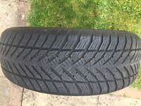 Goodyear Tyres x 2 runflat
