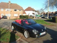 MG TF Stepspeed 120 2004 Leather Interior
