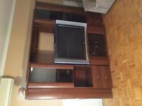 Set de salon, Télévision, meuble TV