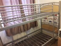Bunk Bed for sale - free delivery until 4pm today (19/09/20)only