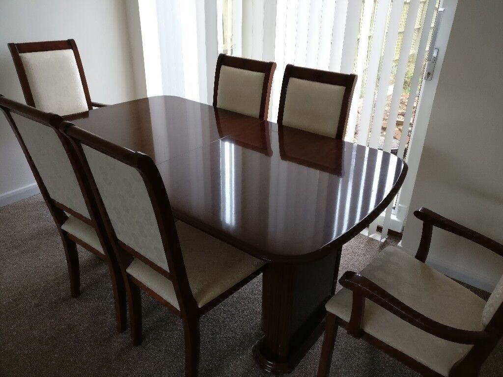 6 Seater Dining Table Extendable