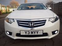 Superb Honda Accord 2.2 i-DTEC EX 4dr in Pristine WHITE for sale - Few of this comes in White