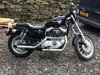 Harley Davidson XL1200 Sportster Sport in mint condition.