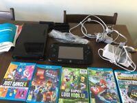 Wiiu premium pack console & games bundle