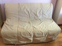 Ikea futon with cover