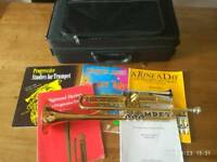Trumpet yamaha ytr 4335 GII with books