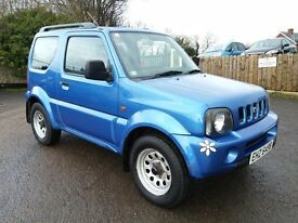 Suzuki Jimny 1.3 JLX 3 door 4 Wheel Drive Jeep ** Only 40k Miles, MINT Condition, MOT Oct **