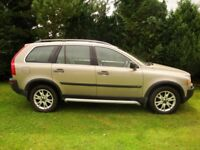 VOLVO XC90,four wheel drive, seven full size seats, diesel