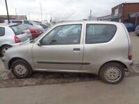 BREAKING ---- Fiat Seicento SX 1.1L Petrol ----- 2001