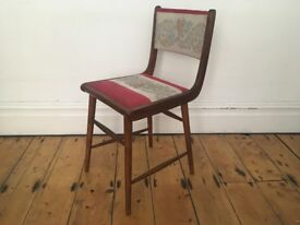 Vintage Unusual Small Bedroom Chair Single