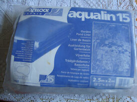 BRAND NEW POND LINER IN ITS ORIGINAL PACKAGING