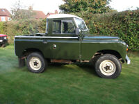Land Rover Series 2a 1968 Tax Exempt
