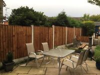 Heavy Duty Pressure Treated Vertical Fence Panels