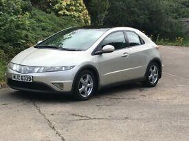 2007 honda civic es 2.2 cdti diesel.moted and taxed.cheap reliable diesel car