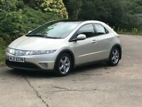 2007 honda civic es 2.2 cdti diesel.moted and taxed.cheap reliable diesel car