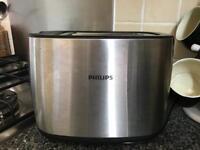 Philips chrome toaster