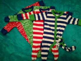 TWINS baby boy Up to 1month next baby sleeping suits baby grows