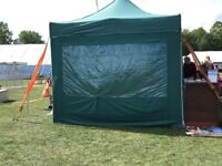 6m/3m racing green marquee by Sun Leisure,