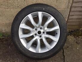Range Rover sport ( new shape ) alloy wheels and tyres brand new
