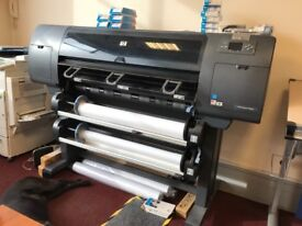 HP designjet 4500 pa large printer
