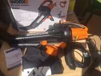 Worx Blower Leaf Lightweight Garden Cleaner