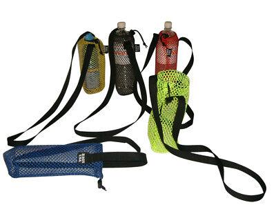 Bottle holder nylon mesh holds one quart also holds 32 ounce bottle Made in -