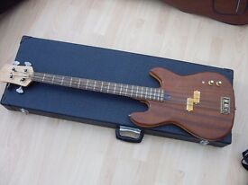 Custom built WAL copy bass guitar