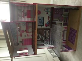 Barbie house 3 floors