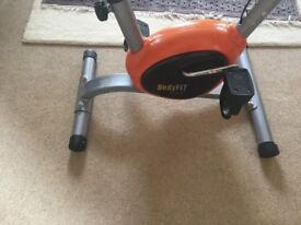 Body fit exercise bike used once