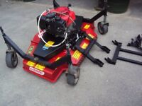 Logic Atv/Quad bike mower- Honda 13hp engine-1.2metre cut-Heavy duty machine