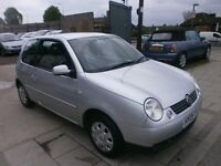 2005 VOLKSWAGEN LUPO 1.4 AUTOMATIC, 3DOOR, HATCHBACK, VERY CLEAN LIKE ,NEW CAMBELT, DRIVES LIKE NEW