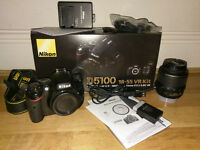 Nikon D5100 Digital Camera with Lens kit £280