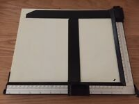 Photographic print measuring device