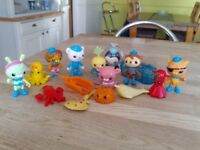 Octonauts Figure and Creature Pack selection
