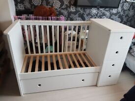 Cot bed excellent condition from 0-5 years