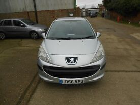 2006 PEUGEOT 207 1.4 S BARGAIN WITH NEW 12 MONTHS MOT