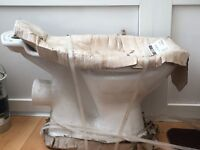 Brand new toilet and cistern