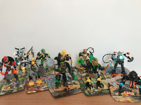Hero factory Bundle, 10 models with instructions.