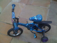 Childs Blue Bike
