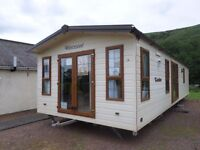 2007 ABI Westwood Lodge static caravan for sale at Chesterfield Country Park in Berwickshire